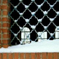Решетка окна  заброшенного Храма... :: Валерия  Полещикова