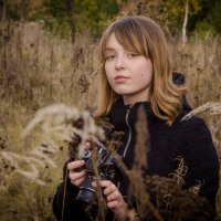 Юный фотограф :: Лариса Сливина