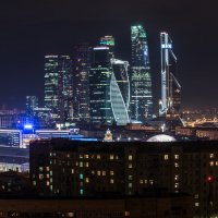 Москва-Сити с крыши небоскреба :: Наталия Киреева