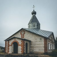 Церковь в пос.Молодёжный :: Ирина Антоновна