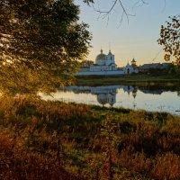 Утреннее отражение. Остров :: Ирина Шурлапова