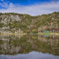 Повседневное отражение реки Белой :: Алексей Соминский