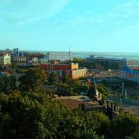 Малая панорама Томска :: Bort037