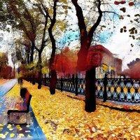 Краски осени в Москве :: Борис Соловьев