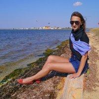 на берегу залива :: Андрей Козлов