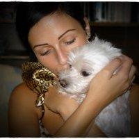Наша собачка Лаки останется в наших сердцах навсегда... :: Dana Spissiak
