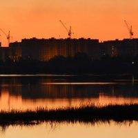вечер над новостройкой :: Александр Прокудин