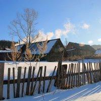 Сибирское село :: Екатерина Торганская