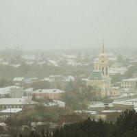 Снежное утро. Старый Каменск. :: Дмитрий Костоусов