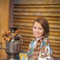 У самовара) :: Фотостудия Объективность