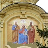 Роспись на алтарной части собора Петра и Павла в Петропавловской крепости :: Galina Leskova