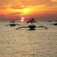 Закат на Филиппинах :: alex