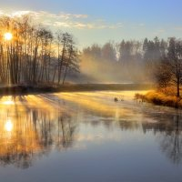 Туманные рассветы октября...3 :: Андрей Войцехов