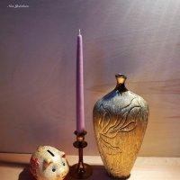 Ваза, свеча, копилка :: Nina Yudicheva