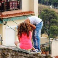 Поцелуй на высоте :: Елена Ом
