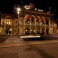Венская опера ночью :: Маргарита