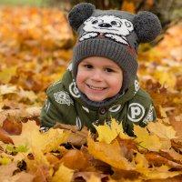 Осенний мальчик. :: Инта