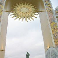 солнышко над Пушкиным( :: Тарас Золотько
