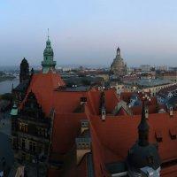 Альтштадт Дрезден, вечерний вид с башни замка :: Тимофей Черепанов