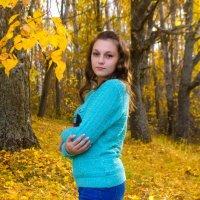 Осень, портрет девушки, осенняя фотосессия, фотопрогулка :: Алена Булдина