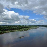 Река Сура. :: Наталья
