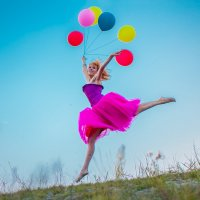 На шариках этих летающих... :: Аркадий Назаров