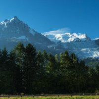 Французские Альпы. Эгюй дю Миди, 3842 метров. :: Надежда Лаптева