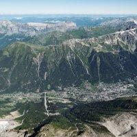 Вид на Шамони с высоты 3842 метров :: Надежда Лаптева