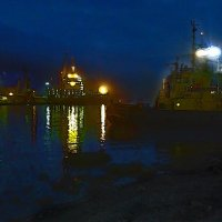 Когда спят корабли... :: Константин Николаенко