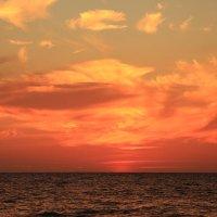 Небо после заката солнца :: valeriy khlopunov