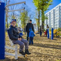 Амир на спорт площадке :: Ильназ Фархутдинов
