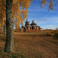 Деревянные храмы России :: анна нестерова
