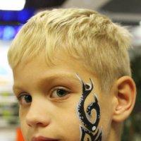Мастер татуажа-рисунок на детском лице :: Анна Шишалова