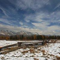 Высокое небо,скалистые горы и сказочный лес... :: Александр Попов