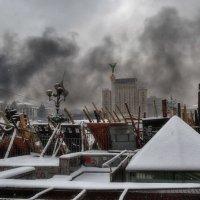 Черно-белый цвет Майдана :: Злобный Шашель