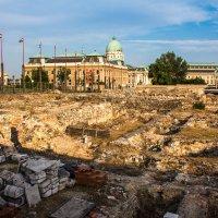 Археологические раскопки рядом с Королевским дворцом в Будапеште :: Вадим *
