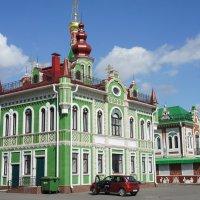Архангельская Слобода, красивый дом, построенный во фламандском стиле :: Елена Смолова