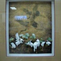 Картина в технике бумагапластика на выставке Краеведческого музея г. Люберцы. :: Ольга Кривых