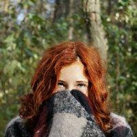 рыжие волосы | зелёные глаза :: Софья Лейкина