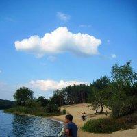 Рыбалка на Красно-Оскольском водохранилище :: Татьяна Пальчикова