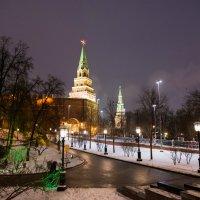 Огни Москвы :: Владимир Безбородов