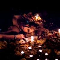 при свечах в лесу :: Коля Нефедов