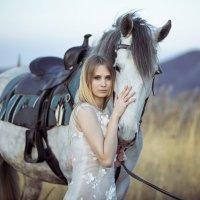 Ольга и Заря :: Evgeniya