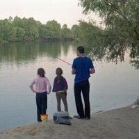 Семейная рыбалка :: Сергей Тарабара