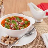Холодный суп гаспачо :: Анастасия Богатова