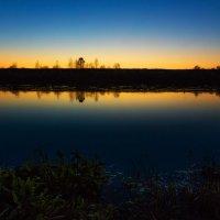 Закат над рекой. :: Sven Rok