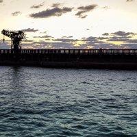 закат в порту :: Maksim Dubinsky