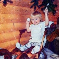 Новогодняя фотосессия малышки :: марина алексеева