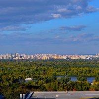Киев. Вид на Левый берег. :: Валентина Данилова