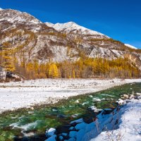 Река, лес и горы :: Анатолий Иргл